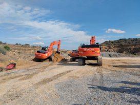 TÜİOSB'de altyapı inşaatı başladı