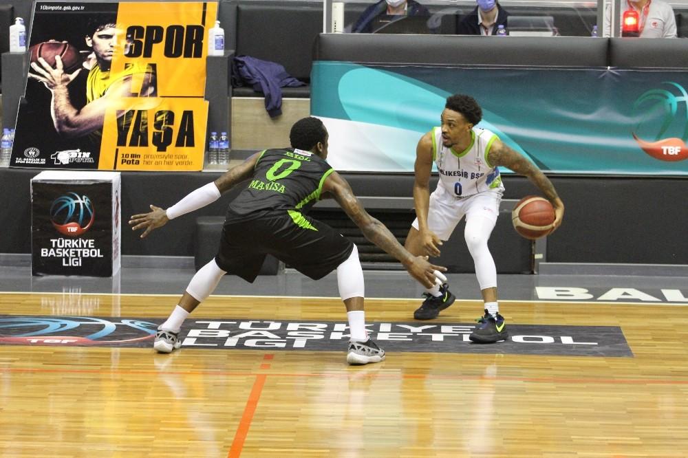 Türkiye Basketbol Ligi: Balıkesir BŞB: 97 – Manisa BŞB: 95