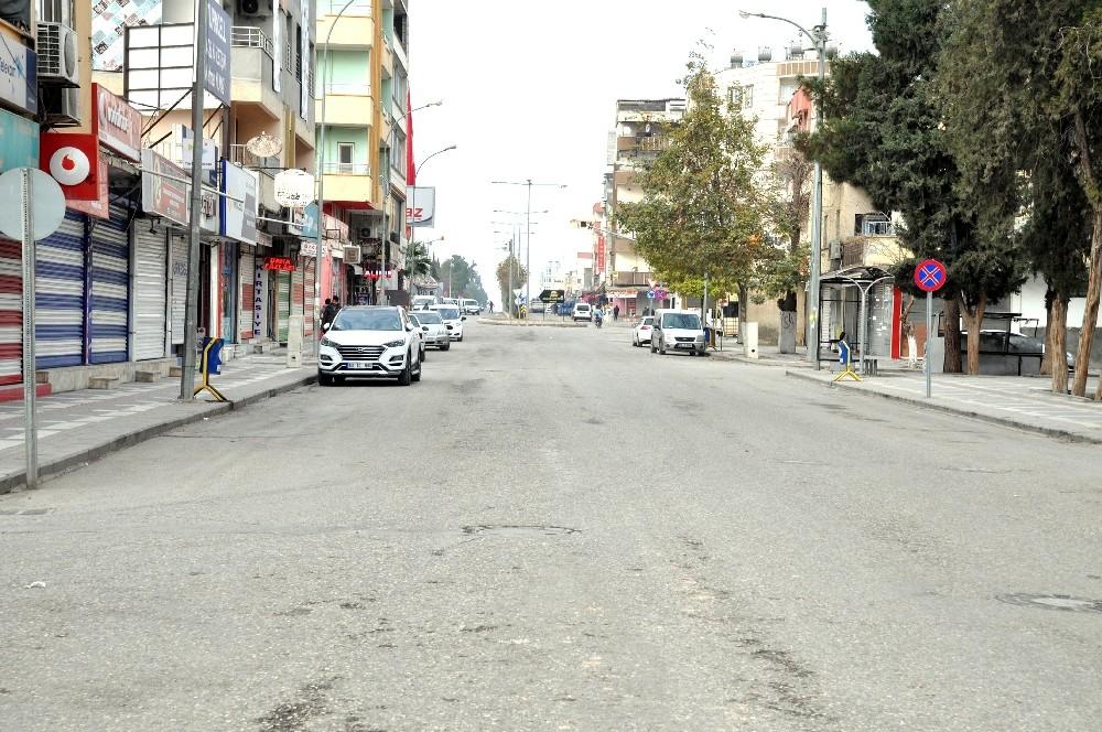 Türkiye-Suriye sınırının her iki yakasında yılbaşında pandemi sessizliği