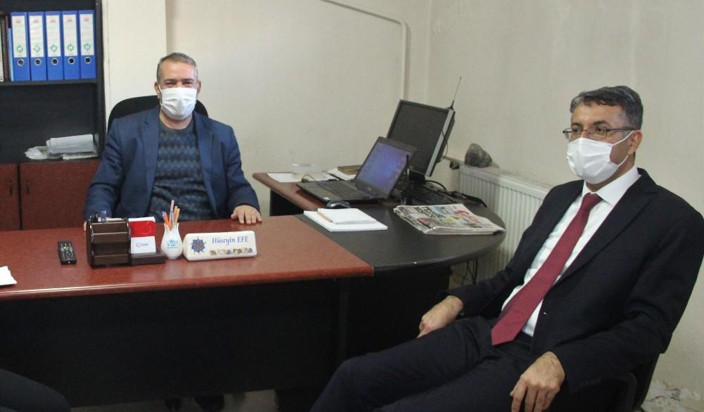 """Vali Ali Çelik: """"Basın, önemli bir kamu görevini ifa ediyor"""""""
