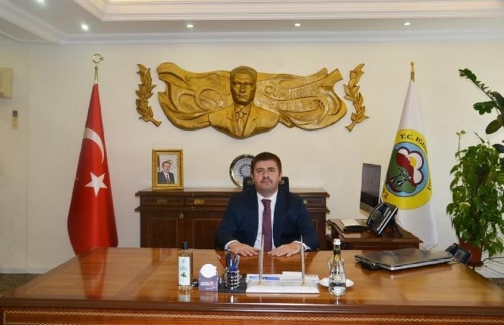 """Vali Sarıibrahim'in """"10 Ocak Çalışan Gazeteciler Günü"""" mesajı"""