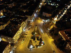 Yeni yılın ilk saatlerinde Kırklareli'nde sessizlik hakim
