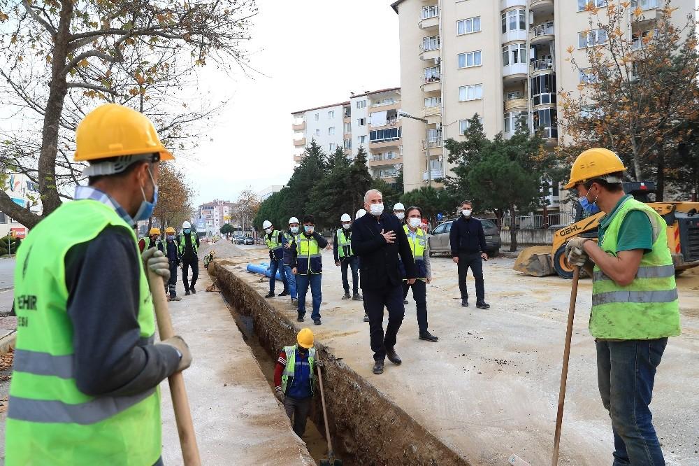 Yenişehir'in içme suyu çilesi Büyükşehir ile son buluyor