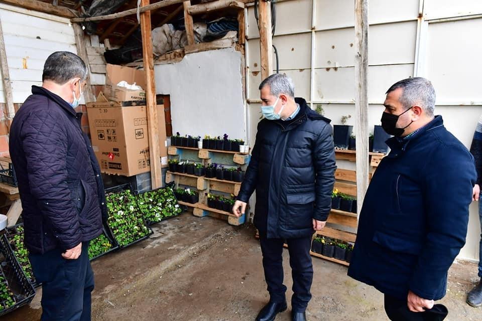 Yeşilyurt'te 2021 yılında 200 bin sebze ve meyve fidanı dağıtılacak
