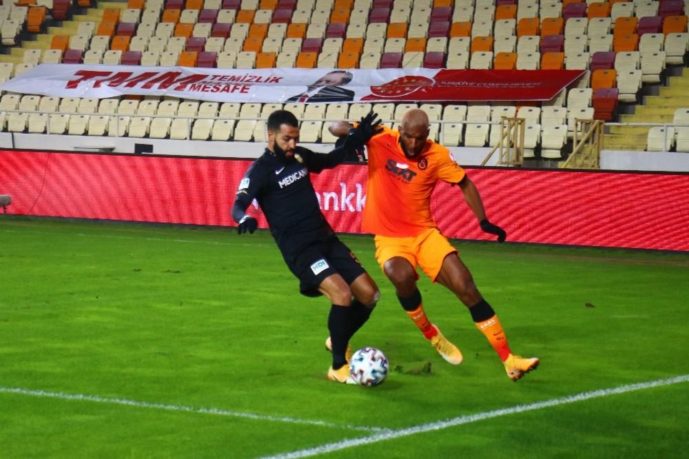Ziraat Türkiye Kupası: Yeni Malatyaspor: 0 – Galatasaray: 0 (İlk yarı)