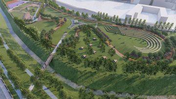 Başkent'te bir Millet Bahçesinin daha ilk fidanları dikildi