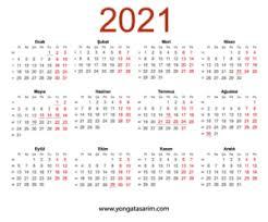 2021 Yılı Resmi ve Dini Bayramlarda Kaç Gün Tatil Olacak