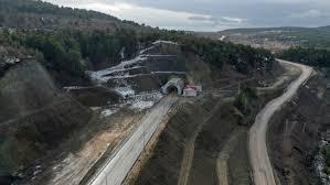 Ankara'nın Kızılcahamam-Çerkeş Tüneli Hizmete Açılıyor