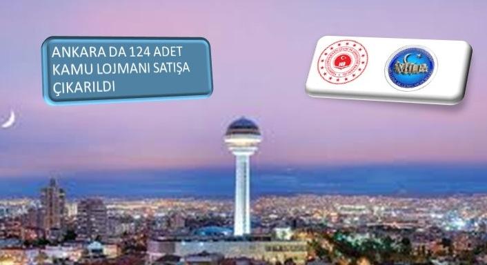 Ankara'da 124 Adet Kamu Lojmanı Satışta